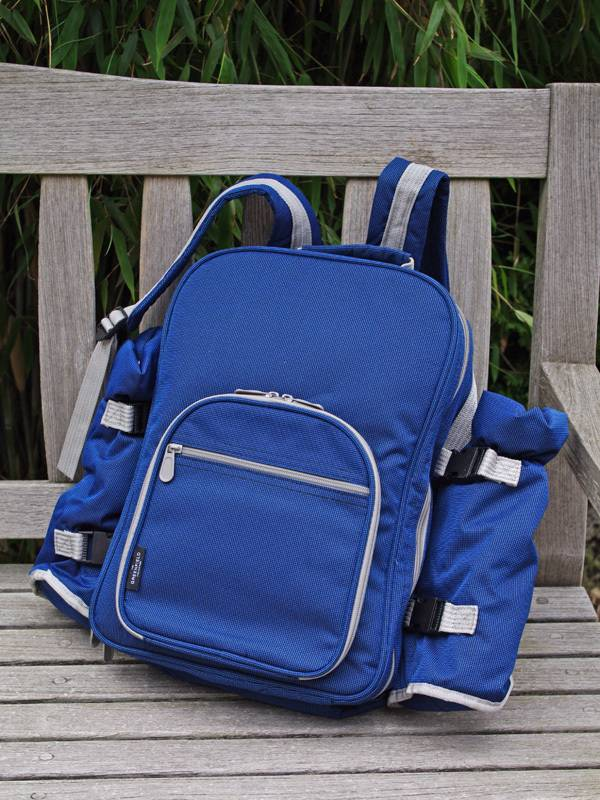Picknickrucksack-Backpack-Blue
